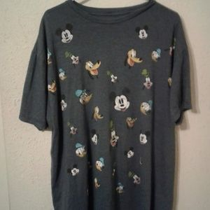 Disney Characters Blue T-Shirt